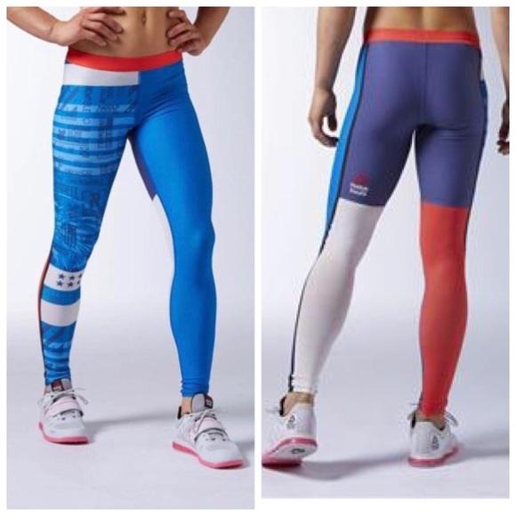 7553cfeebf5159 Reebok Pants   Crossfit Compression Tights   Poshmark